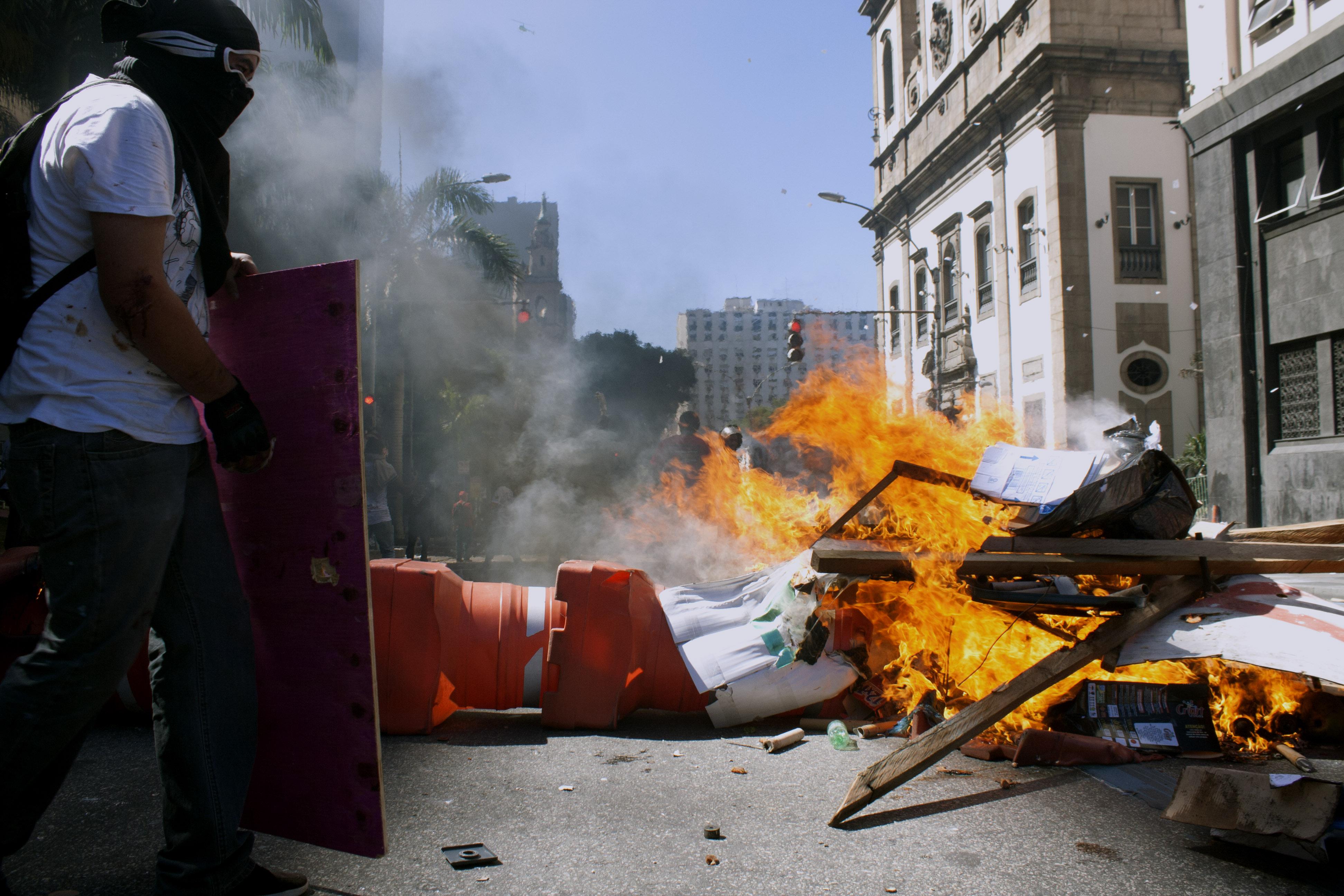 Protesto dos servidores públicos do Rio de Janeiro (6/12/16)