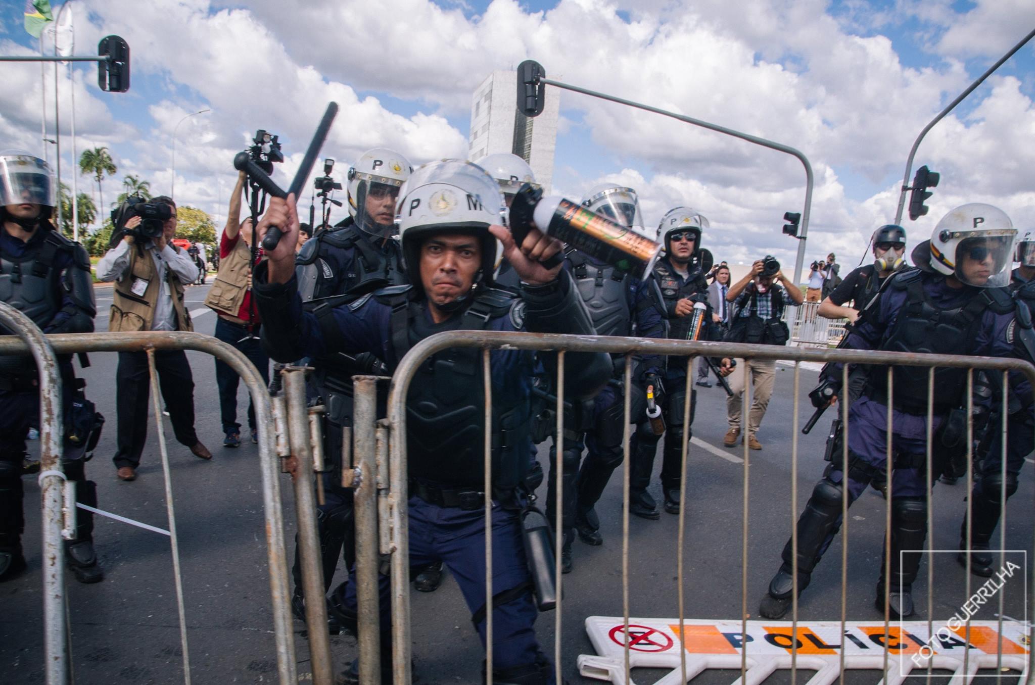 #OCUPABRASILIA – Milhares foram a capital pelo Fora Temer
