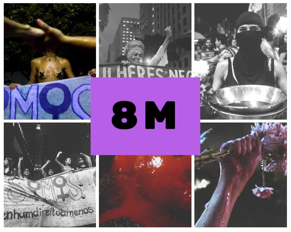8M – Greve Internacional das Mulheres