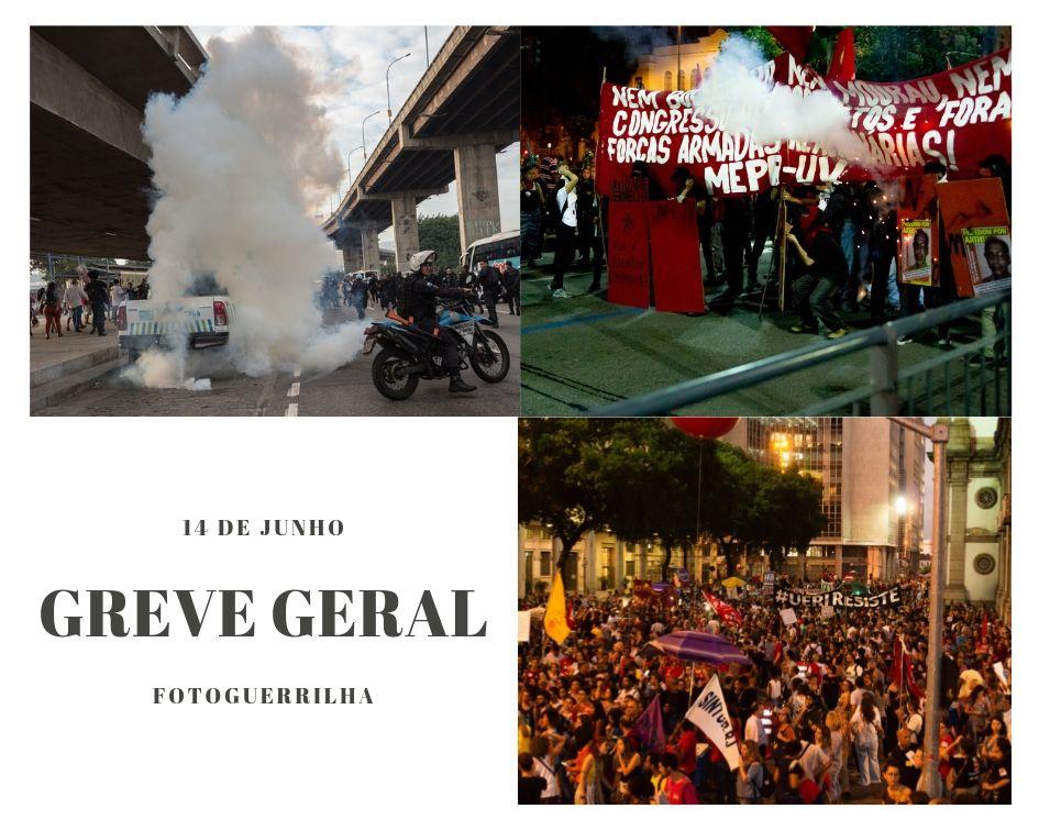 Greve Geral dos trabalhadores, o 14 de junho contra Bolsonaro