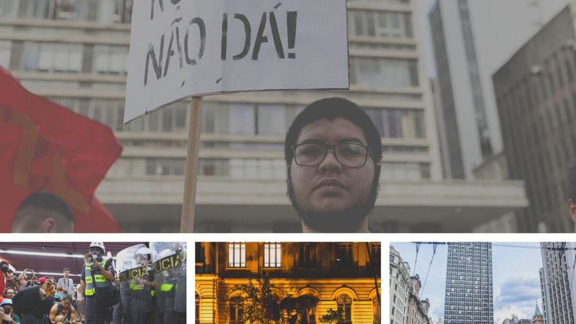 Semana contra a tarifa em São Paulo