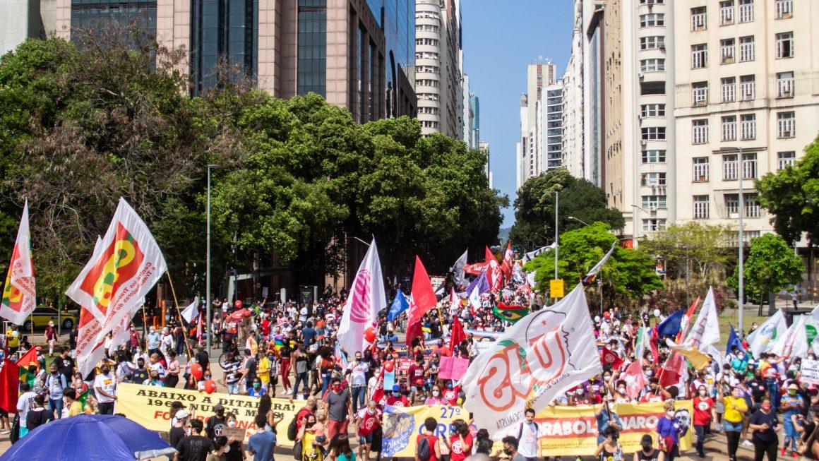 A DEMOCRACIA CORRE RISCO E A ESPERANÇA ESTÁ NA LUTA DOS EXCLUÍDOS