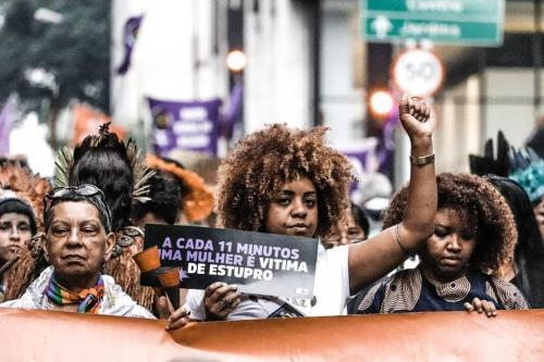 8M em São Paulo. (Foto: Pablo Washington/Fotoguerrilha