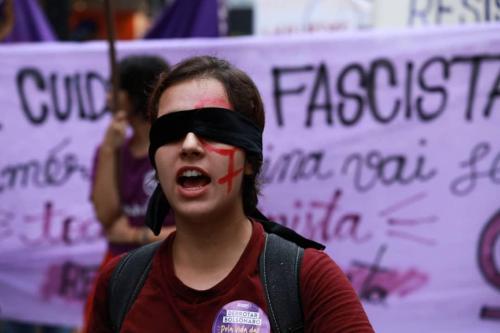 8M em São Paulo (Foto: Isabela Naiara/Fotoguerrilha)