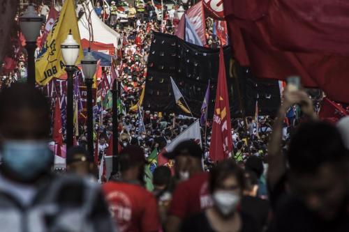Ato Contra Bolsonaro em São Paulo. Foto: Kauê Pallone
