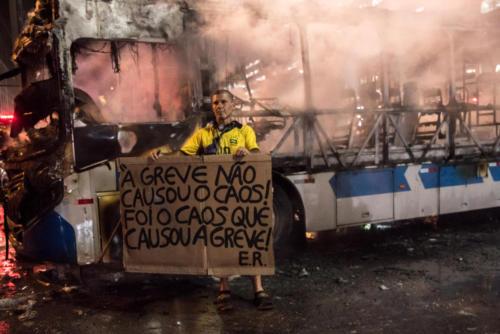 Greve pela educação, 15 de maio, no Rio de Janeiro. Foto: Bárbara Dias/Fotoguerrilha
