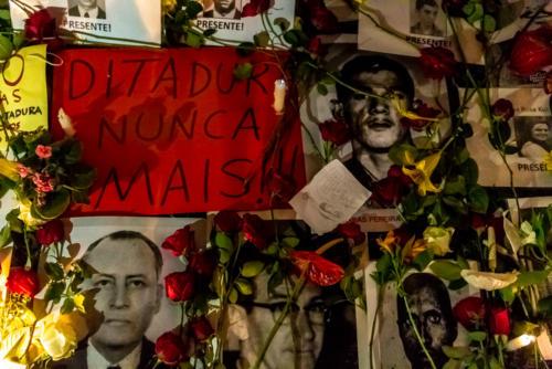 Ato Caminhada do Silêncio. Foto: Patrícia Borges/Fotoguerrilha