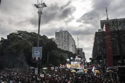Greve pela educação, 15 de maio, em São Paulo.  Foto: Kauê Pallone/Fotoguerrilha