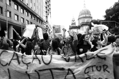 Greve pela educação, 15 de maio, no Rio de Janeiro. Foto: Luciana Bello/Fotoguerrilha