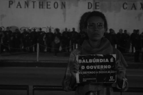 Greve pela educação, 15 de maio, no Rio de Janeiro. Foto: Vinícius Ribeiro/Fotoguerrilha